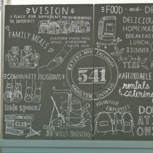 Hamilton's new 541 Eatery and Exchange, a not-for-profit restaurant.