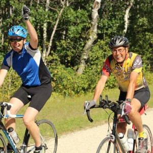 Organizer Wayne Siemens' personal challenge to take up cycling to recover from his own mental health crisis helped create the Ride for Mental Health, raising thousands of dollars for children in Africa.
