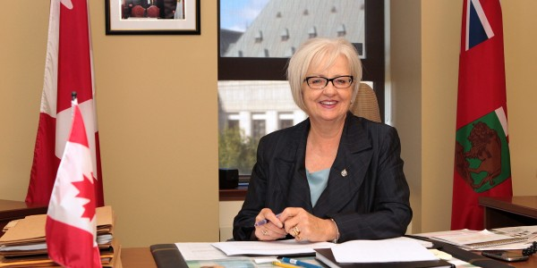 Through her decade in office, Member of Parliament Joy Smith made history as the first Canadian parliamentarian to pass two Private Members Bills amending the Criminal Code. Photo courtesy of Joy Smith.