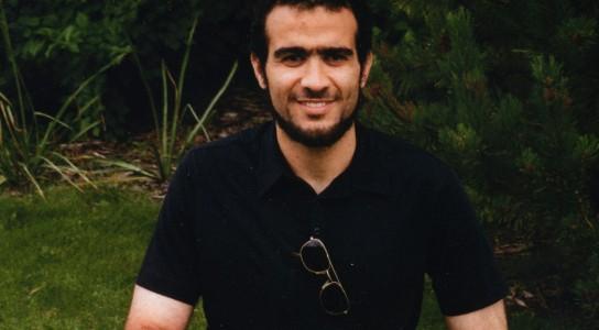 Omar Khadr in Bowden Institution at Eid al-Fitr 2014. Photo from www.freeomar.ca